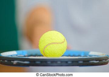schläger, tennis