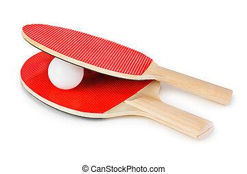 schläger, tennisball