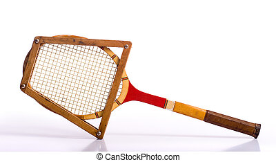schläger, weinlese, tennis