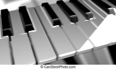 schlüssel, klavier
