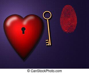 schlüssel, lieben