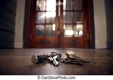 schlüssel, verloren