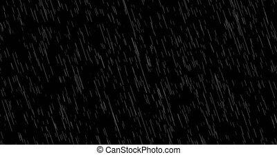 schleife, fallenden regen, hintergrund