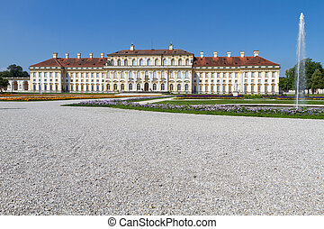 """""""schleissheim"""", castillo, cerca, munich, alemania"""