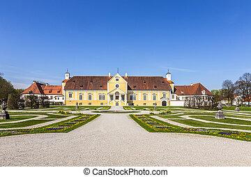 schleissheim, castillo, -, viejo, palacio