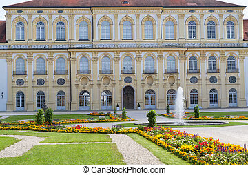 """schleissheim"", castillo, (west, side), cerca, munich, alemania"