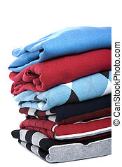 schließen, pullover, gefärbt, auf