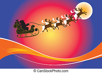 schlitten, Santa
