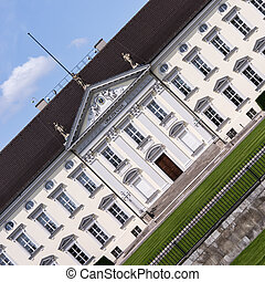 schloss bellevue berlin germany (residence of president)