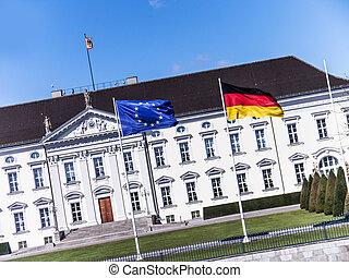 schloss bellevue in berlin (president of germany)