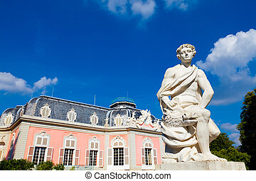 Schloss Benrath, Dusseldorf, Germany - Palace Schloss...