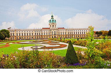Schloss Charlottenburg (Charlottenburg Palace) in Berlin,...