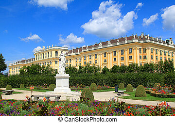 schloss, schoenbrunn, palacio, viena