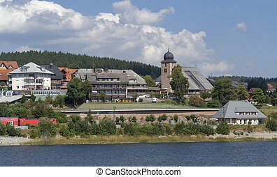 Schluchsee in the Black Forest