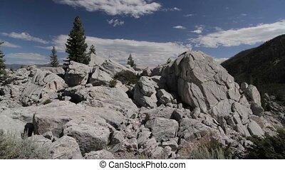 schlucht, knotenpunkt, yellowstone nationalpark, vereinigte staaten