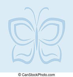 Schmetterling abstrakt