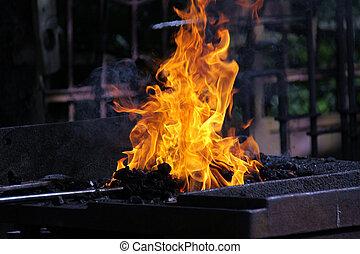fire - Schmiedefeuer, fire