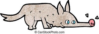 Schn ffeln karikatur hund schn ffeln vektor hund for Boden clipart