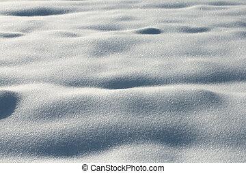 schnee, beschaffenheit