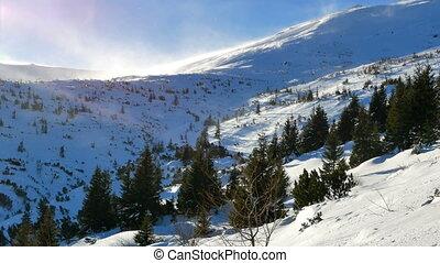 schneeberge, winter