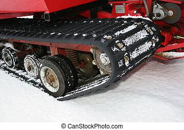 schneien fahrzeug