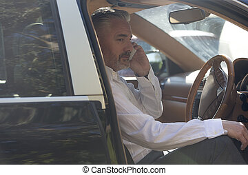 schnell, arbeit, rufen, fahren, vorher
