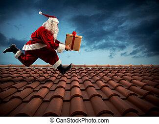 schnell auslieferung, weihnachtsmann
