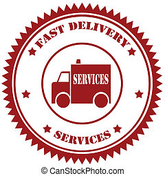 schnell, delivery-stamp