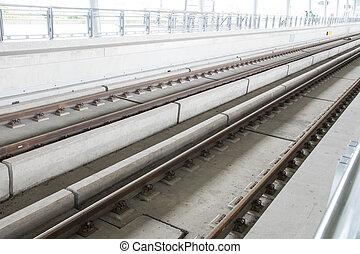schnell, eisenbahn, train.