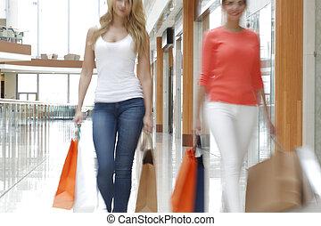 schnell, shoppen