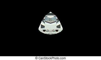 schnitt, diamant, baquette
