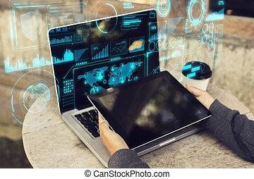 schnittstelle, begriff, blockchain