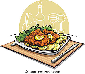 schnitzel cutlet