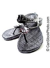 schnur, sandals