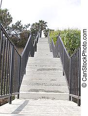 schody, prospekt