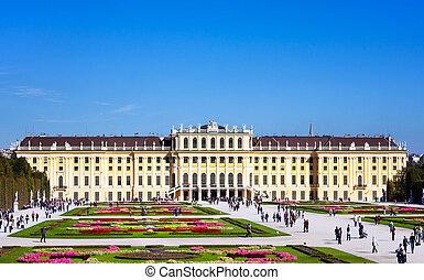 schoenbrunn, autriche, palais