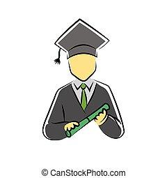 scholar symbol