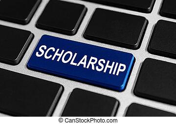 scholarship button on keyboard