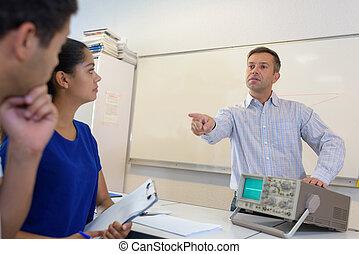 scholieren, klaslokaal