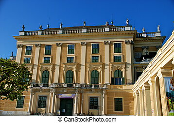 Schonbrunn Castle, Vienna, Austria