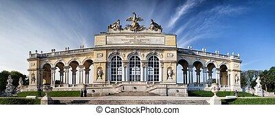 schonbrunn, gloriette, pavillon, gärten, wien