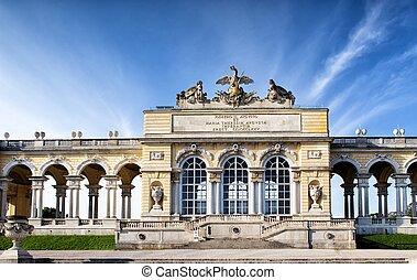 schonbrunn, kleingarten, palast