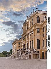 Schonbrunn Palace main entrance,  Vienna, Austria
