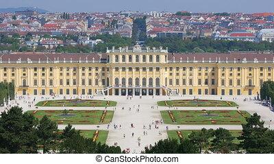 """schonbrunn palace, vienna, austria, 4k"""