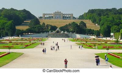 """""""schonbrunn palace, vienna, austria, timelapse, zoom in, 4k"""""""