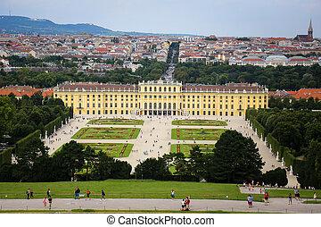 schonbrunn, viena, áustria, palácio