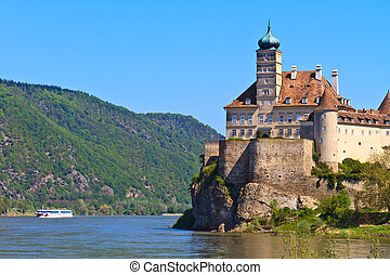 Schonbuhel Castle on the Danube river, Wachau Valley, Austria