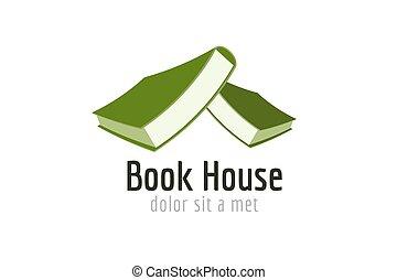 school., 大学, 家, 背中, 教育, 本, 大学, ロゴ, element., 出版しなさい, 知識, ...