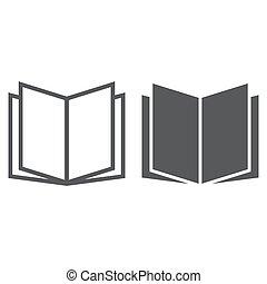 school, 10., kennis, model, witte , eps, meldingsbord, opleiding, pictogram, vector, grafiek, lijn, glyph, opengeslagen boek, achtergrond, lineair