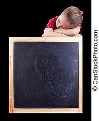 school and sleep